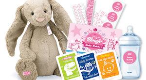 babypakket naamstickers